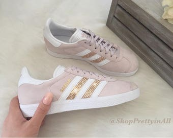 Rose Gold Adidas Etsy