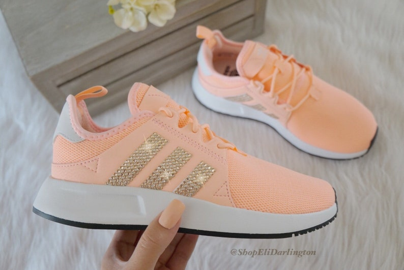 separation shoes a5cee 8a34e Adidas Originals XPLR Girls Womens Casual Shoes with Rose Gold   Etsy