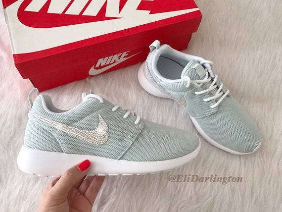 size 40 86726 43060 FREE SHIPPING Custom Bling Nike Roshe One Shoes Swarovski   Etsy