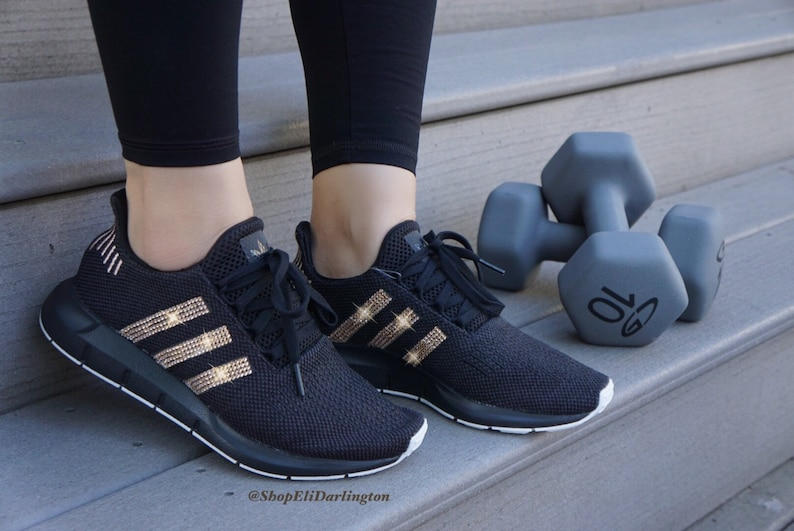 8112134945 Women s Adidas Swift Run Casual Shoes with Rose Gold