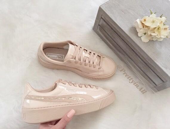 Chaussures Bling Avec Basket Cristaux Des Puma q70r7t