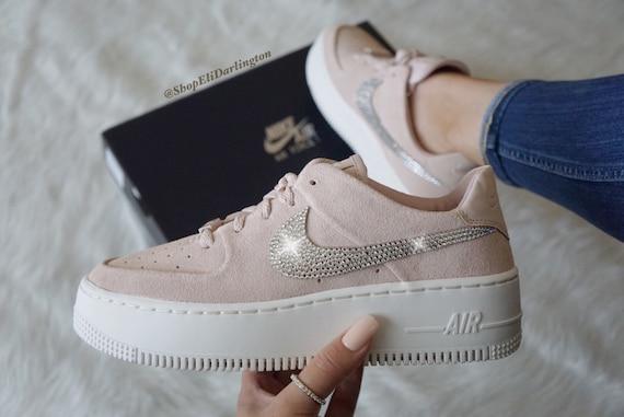 Womens Nike Air Force 1 Sneakers, Benutzerdefinierte Nike