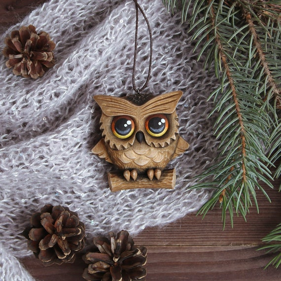 Ironwood Owl Christmas Ornament