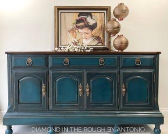 Charmant Kitchen Buffet , Boho Sideboard Buffet Vintage Cabinet , Bathroom Vanity ,  Tv Stand, Bohemian Furniture, Entryway Cabinet, Entert