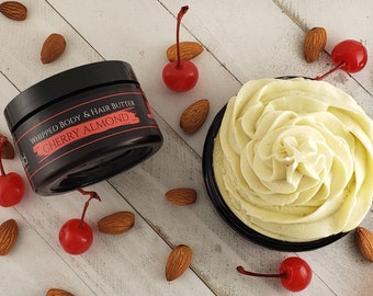 Cherry Almond Whipped Body & Hair Butter