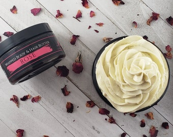 Rose Whipped Body & Hair Butter