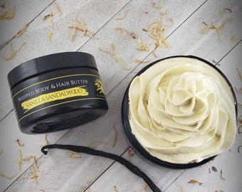 Vanilla Sandalwood Whipped Body & Hair Butter