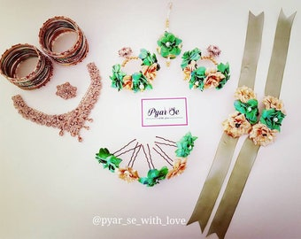 Indian / Asian Floral Jewellery/ Flower Jewellery
