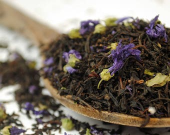 Afternoon Earl Grey Blue Flower  - Premium Loose Leaf Tea (10g - 100g)