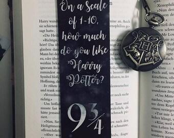 Harry Potter 9 3/4 Bookmark