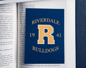 Riverdale Bulldogs inspired Postcard