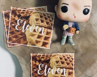 Eleven Sticker Stranger Things
