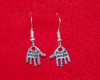 HANDMADE HAND EARRINGS