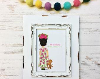 Hope Little Frida Kahlo Art Print