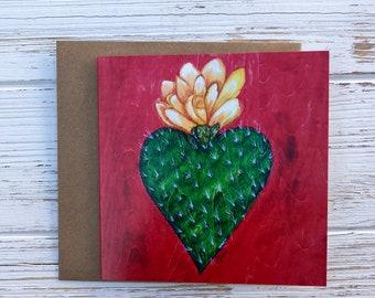 Corazon Espinado ~ Greeting Card