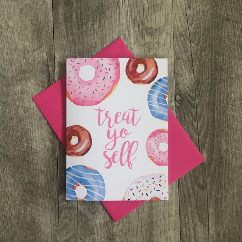 Donut Lover Birthday Card