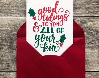 Holiday Card Pack of 5