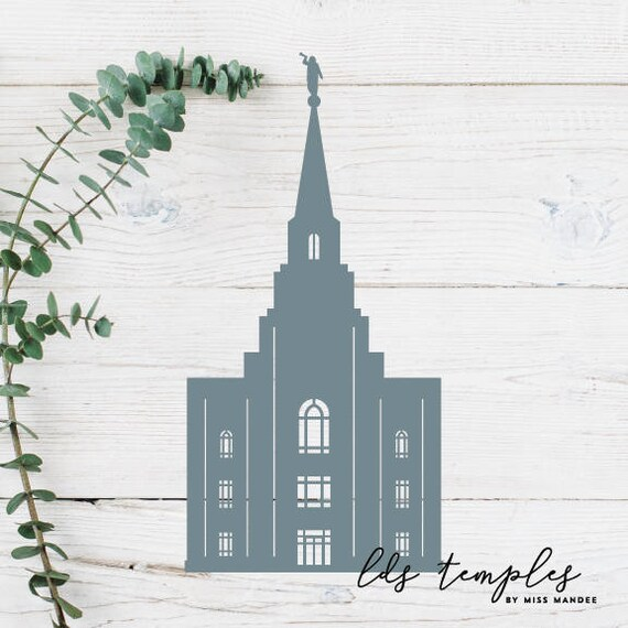 Kansas City Missouri Lds Temple Cut File Digital Download Etsy