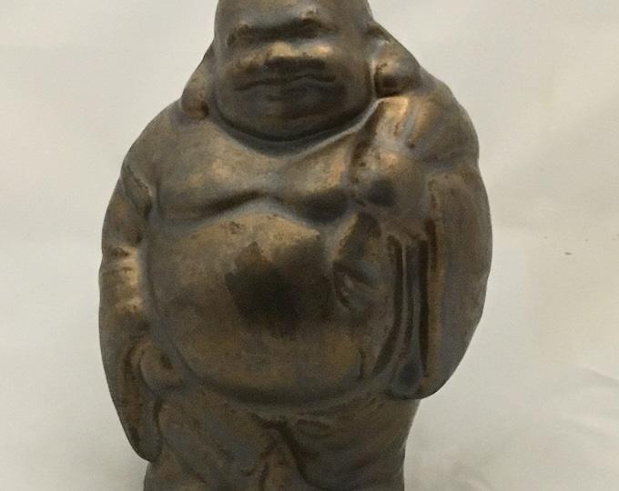 Featured listing image: Standing Hoi Toi Buddha Figurine