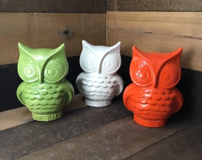 Featured listing image: Stoneware Storage Owl