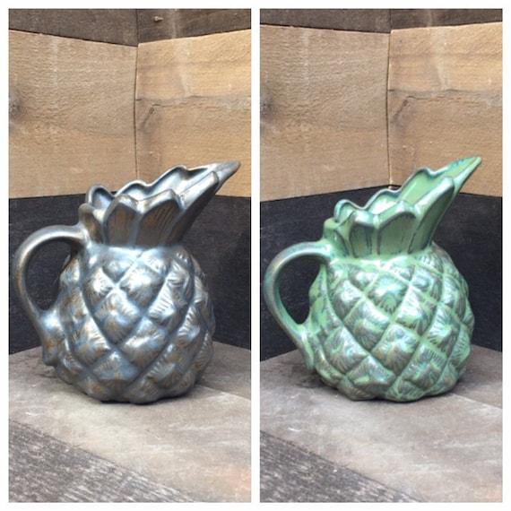 Vintage Pineapple Pitcher Vase