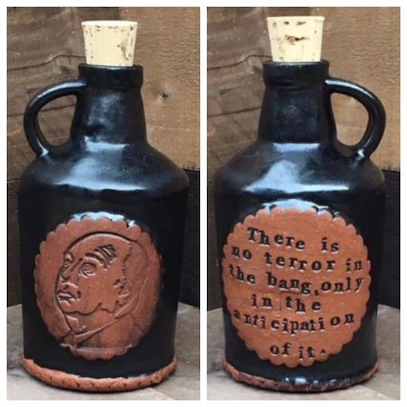 Alfred Hitchcock Quote Jug