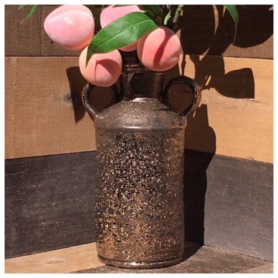Vintage Gold Amphora Vase
