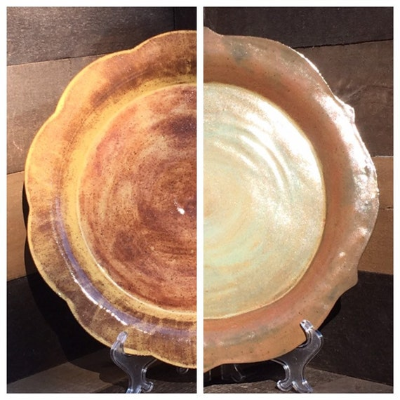 Large Handbuilt Serving Platter