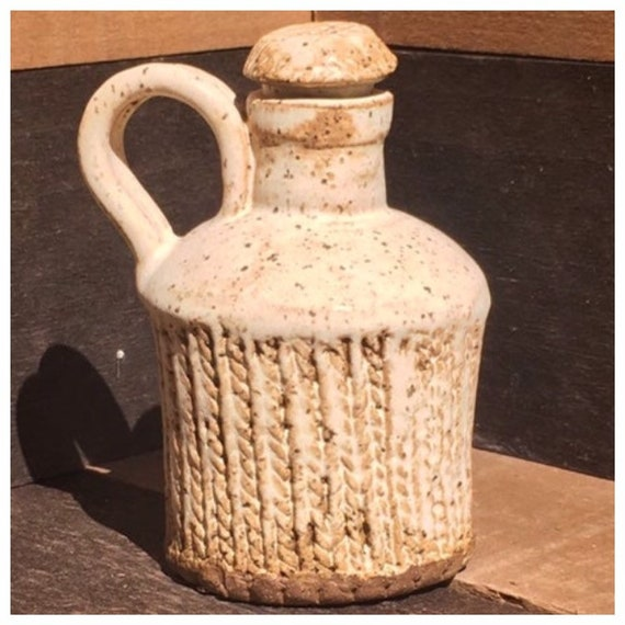 Winter Sweater Jug/Bud Vase