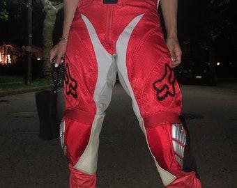 45385dd3411e6 Vintage 1990s 90s Women's Fox Strafter Motocross Race Pants
