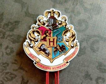 Hogwarts Planner Clip