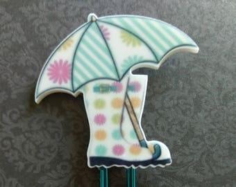Rainy Days Planner Clip