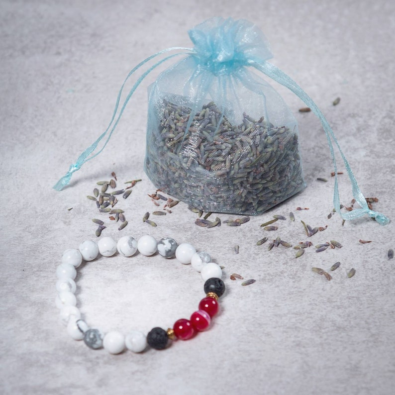 LOVE Lava Bead Diffuser Bracelet  Essential Oil Diffuser image 0