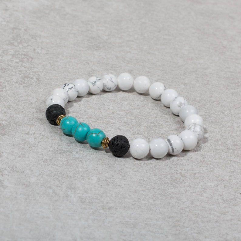 PEACE Lava Bead Diffuser Bracelet  Diffuser Bracelet image 0