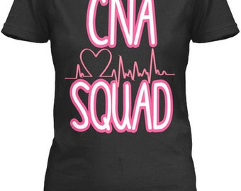 06701867e0ebc Cna Squad Certified Nursing Assistant - Gildan Women'S Relaxed Tee