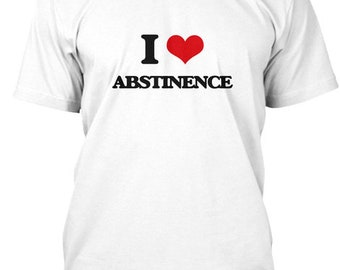 22a4b729a I Love Abstinence - Hanes Tagless Tee