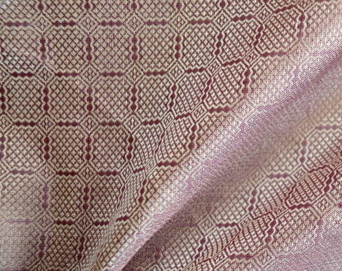 SALE! Light pink silk from Birka, handwoven natural silk, Viking clothing, historical fabric, Viking fabric, fabric for reenactors
