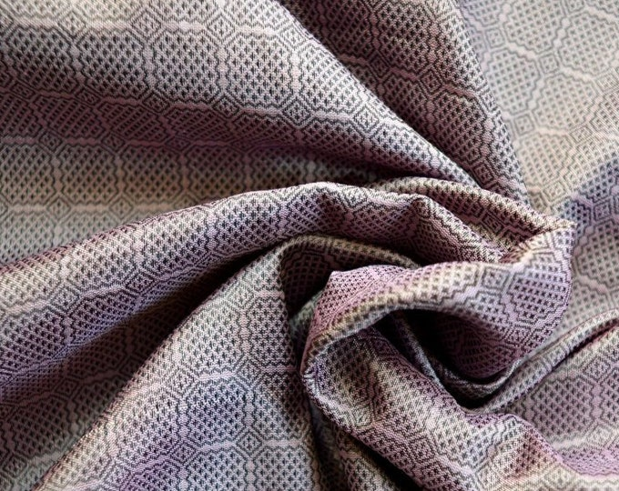 SALE! Birka silk for Vikings, dusty pink handwoven natural silk fabric, Viking clothing, historical fabric, fabric for reenactors