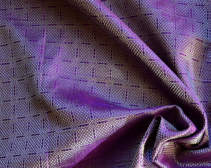 SALE! Birka silk for Vikings, purple, handwoven natural silk fabric, Vikings, Viking clothing, historical fabric, fabric for reenactors