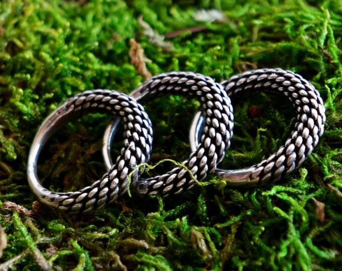 Silver Viking ring, Slavic ring, early medieval ring, Vikings, Viking jewellery, Slavic jewelry