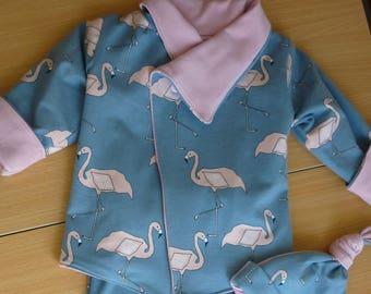 organic cotton jersey baby set