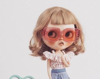 Retro glasses for Blythe