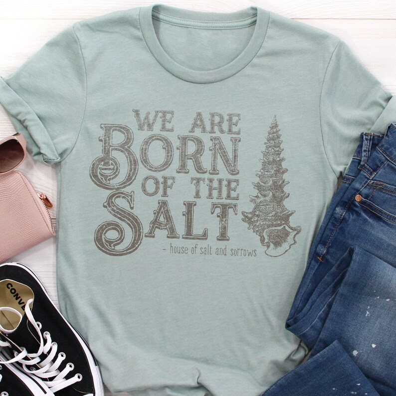 People of Salt  House of Salt and Sorrows Shirt  Erin A. image 0
