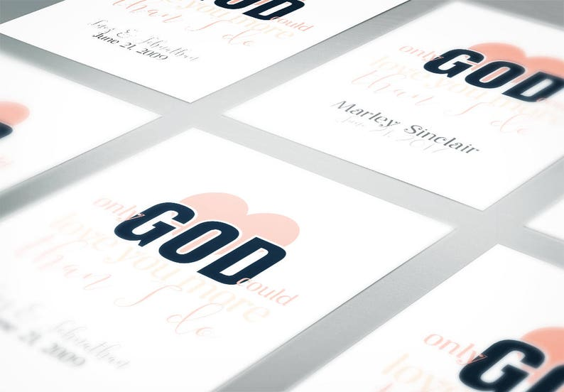 Only God Could Love You More Word Art — Country Song Lyrics — Nursery Art —  Newlywed Gift — Anniversary Gift — Religious Art — Religious