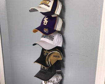 Hat/Cap Rack Solid Wood Made To Order