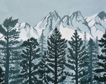 Pacific Northwest Art Print