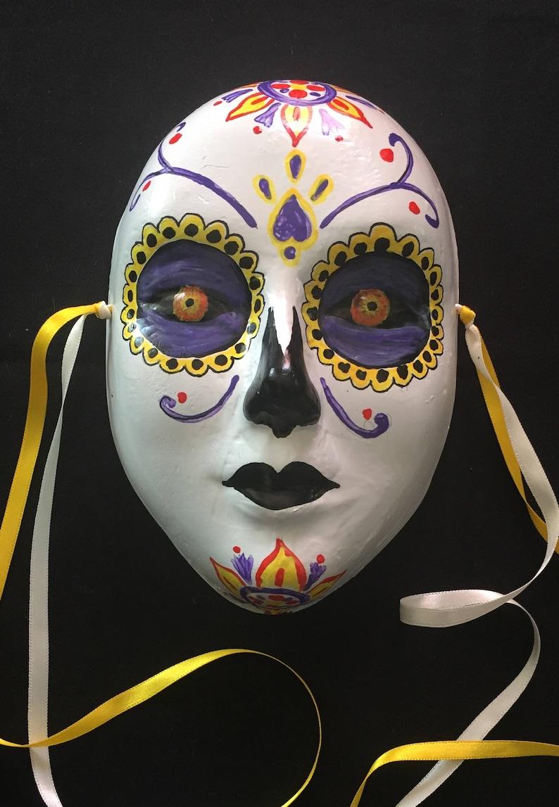 Mascara Ceramic Catrina Wall Decoration Mask ParaEtsy 9WEDH2I
