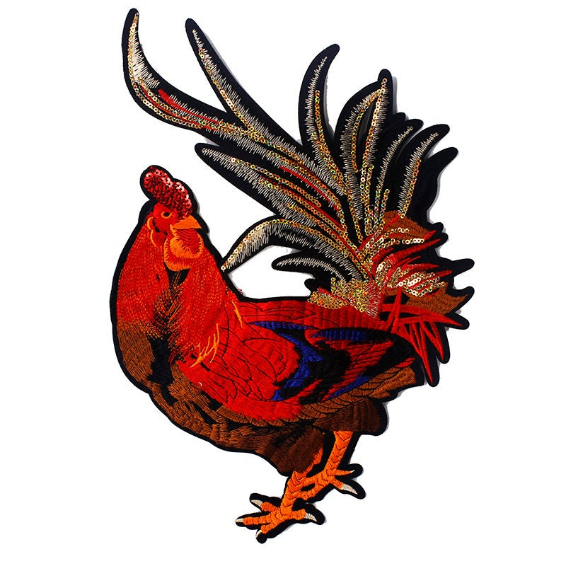 big red rooster designed - 800×800