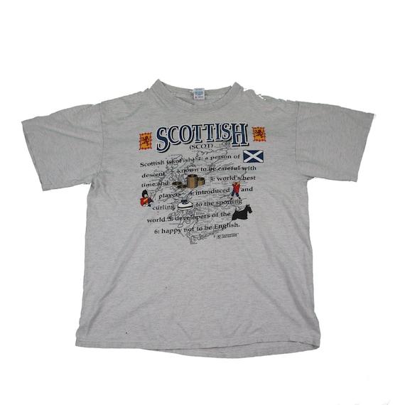 Vintage Scottish funny shirt