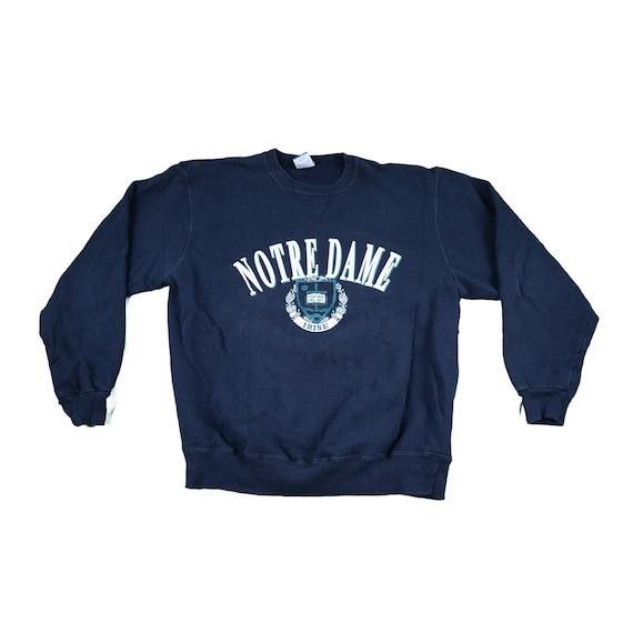 Vintage 80s Notre Dame Champion pullover sweatshi… - image 1